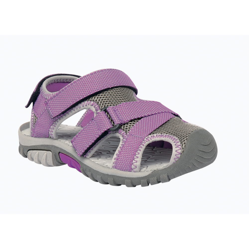 Product image of Regatta Kids Sea-Burst Junior Lightweight Mesh Walking Sandal Steel