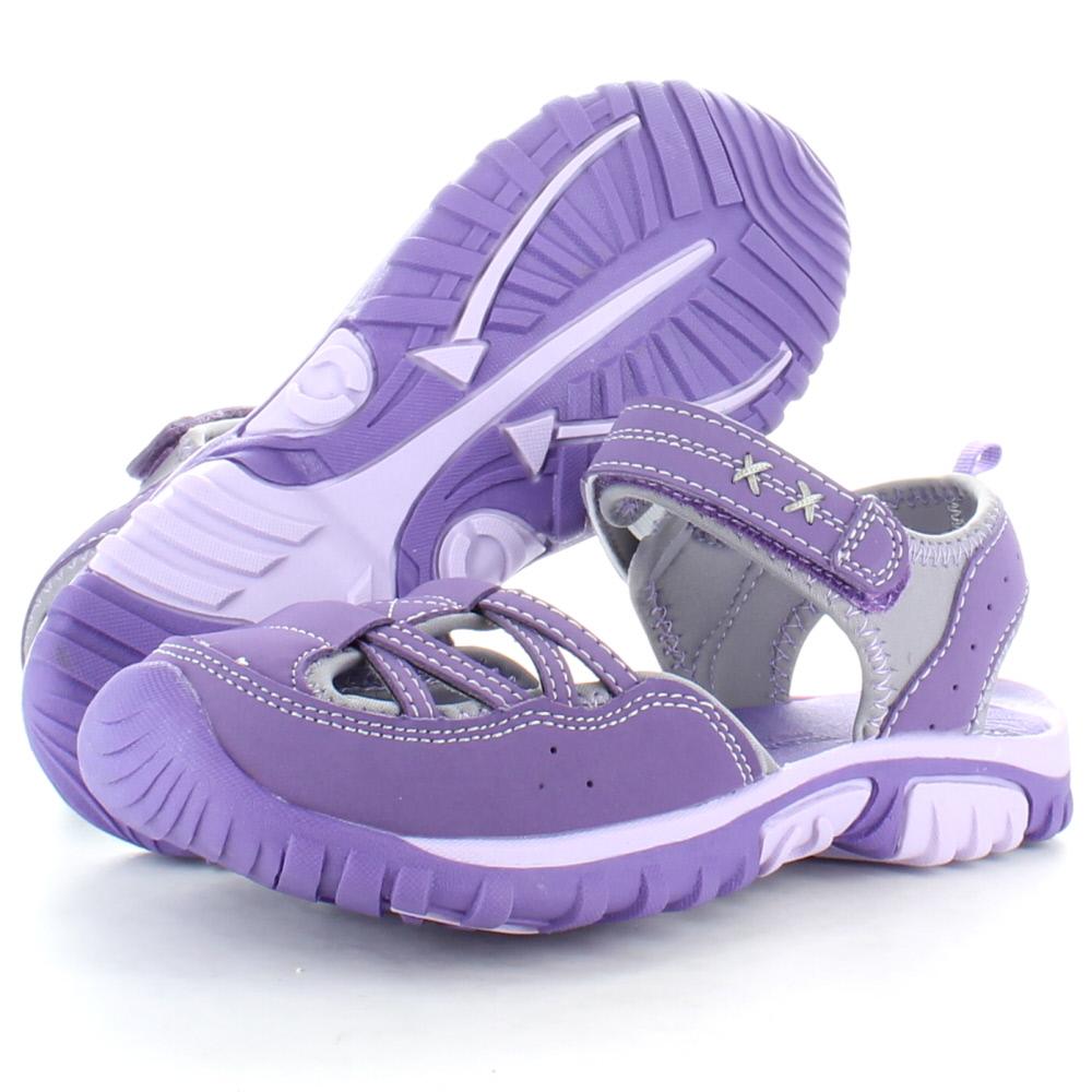 Product image of Regatta Girls Boardwalk Junior Walking Sandals RKF406 Purple