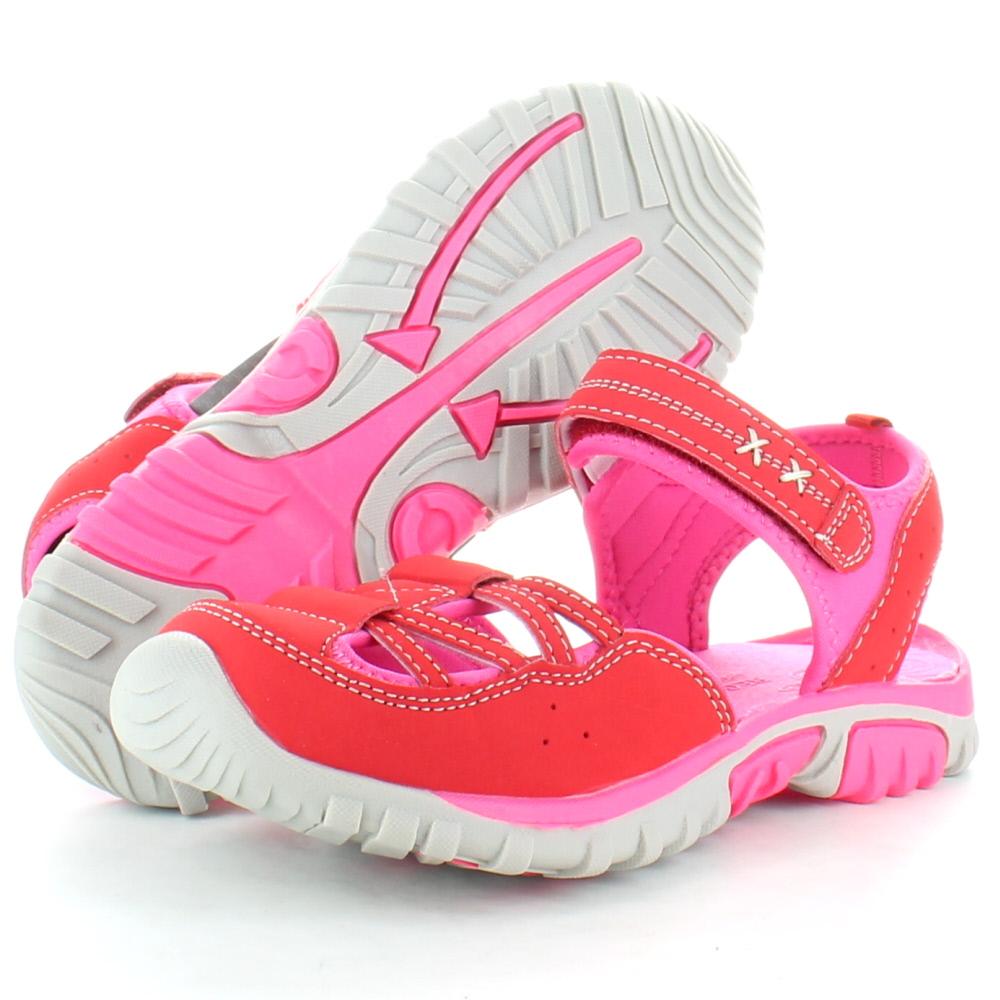 Product image of Regatta Girls Boardwalk Junior Walking Sandals RKF406 Pink