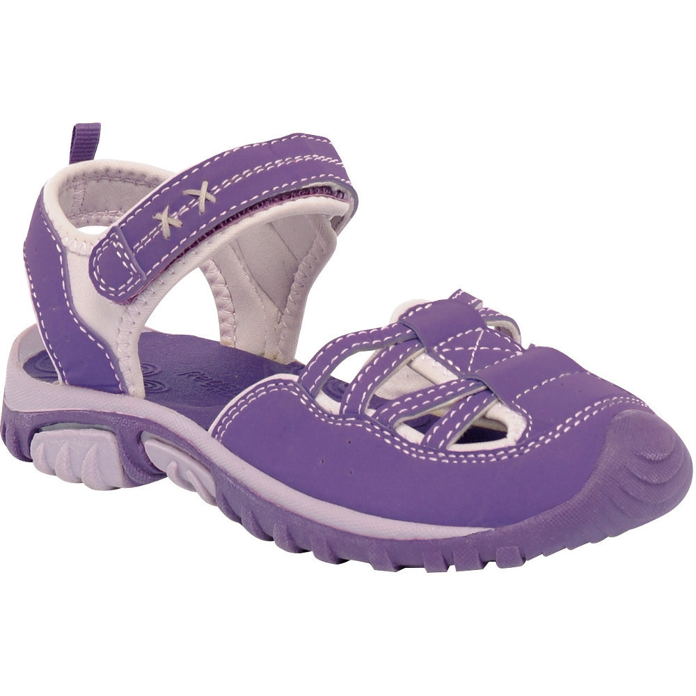 Product image of Regatta Girls Boardwalk Lined Upper Stretch Walking Sandals UK Size 1 (EU 33)