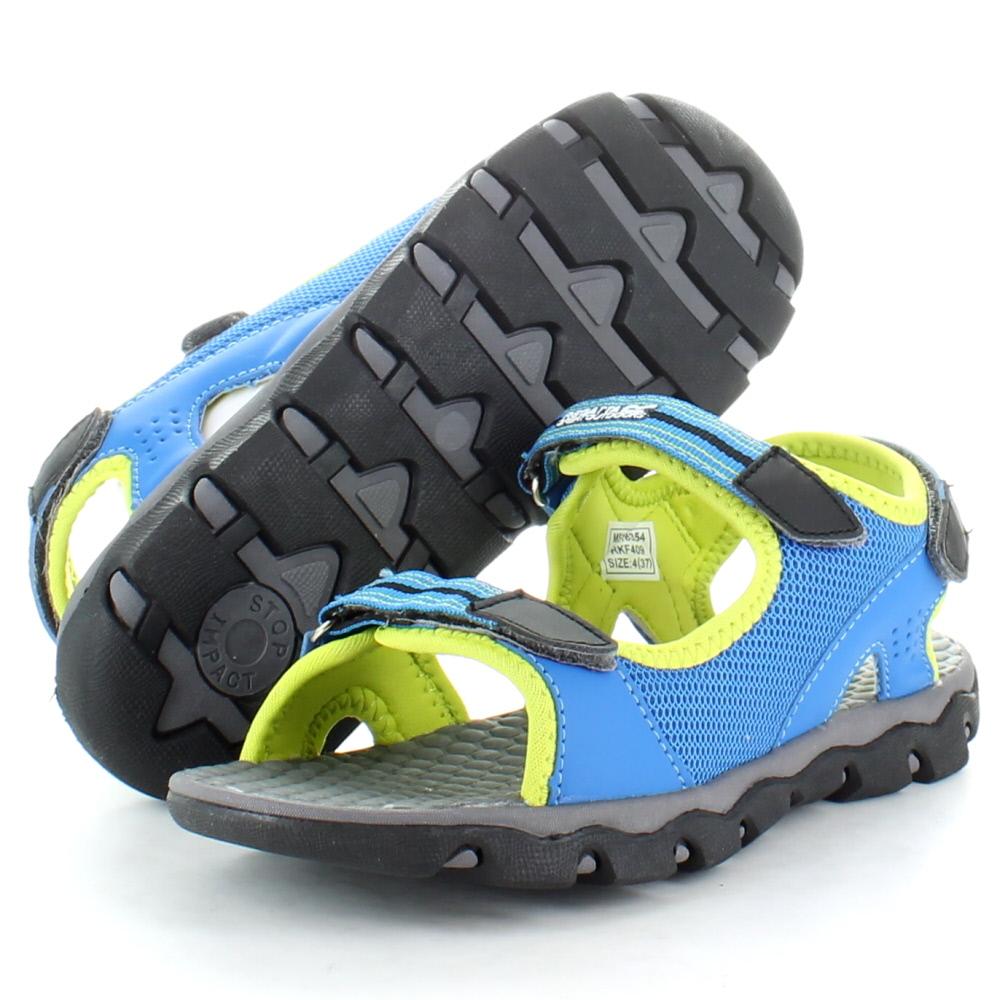 Product image of Regatta Boys Terrarock Junior Walking Sandals RKF409 Blue
