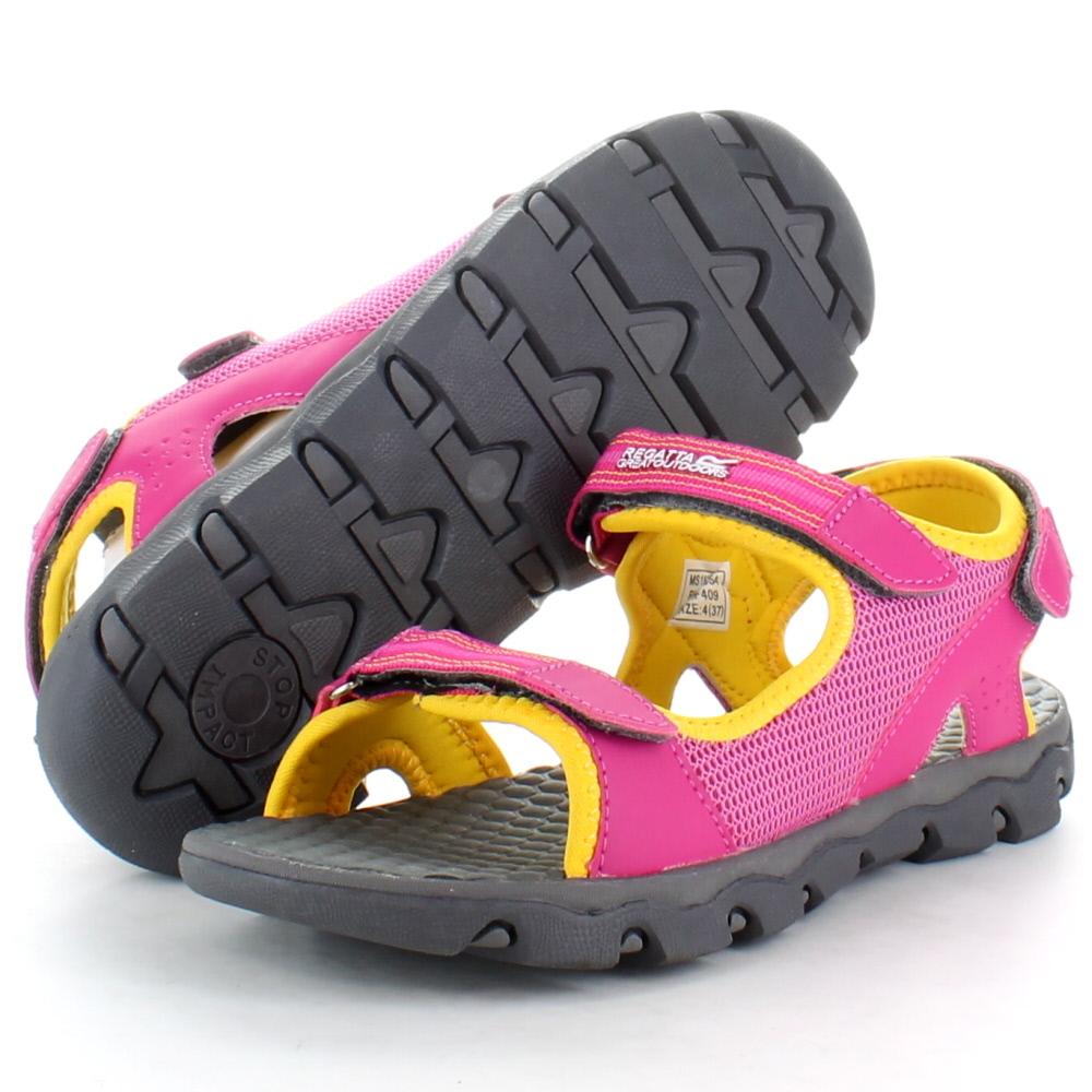 Product image of Regatta Girls Terrarock Junior Walking Sandals RKF409 Red