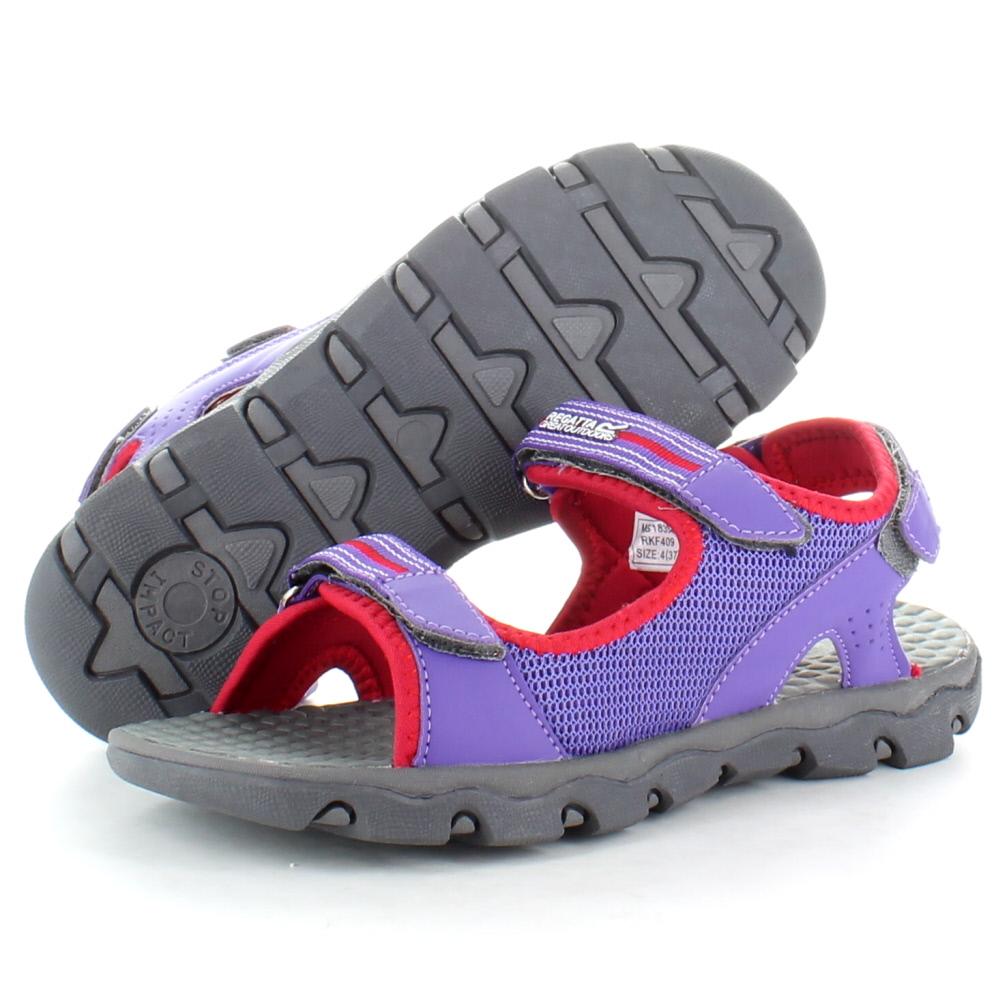 Product image of Regatta Girls Terrarock Junior Walking Sandals RKF409 Pink