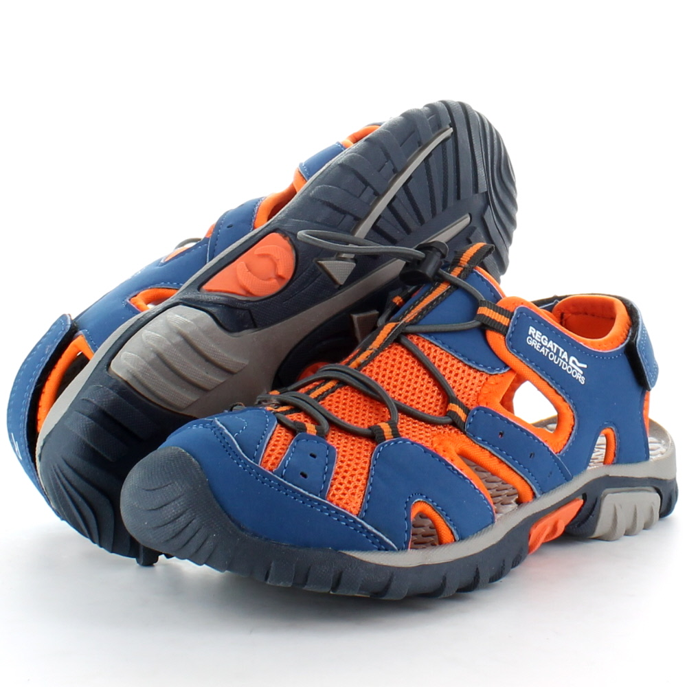 Product image of Regatta Boys Deckside Junior Walking Sandals RKF413 Blue