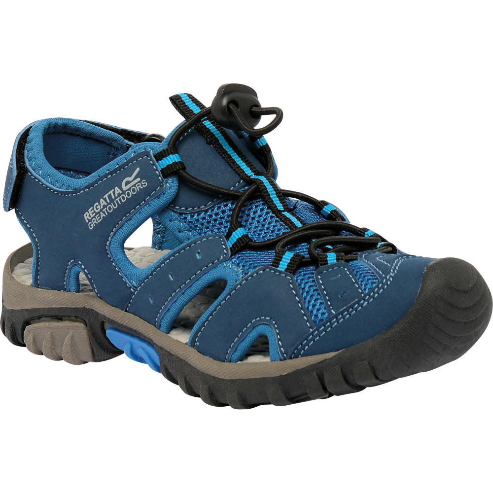 Product image of Regatta Boys Deckside Junior Lightweight Breathable Walking Sandals UK Size 1 (EU 33)