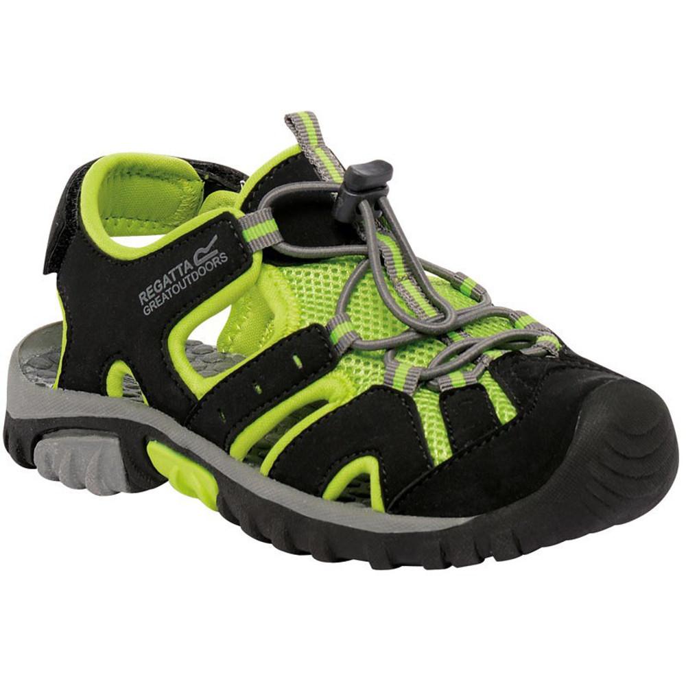 Product image of Regatta Boys & Girls Deckside Junior Breathable Mesh Walking Sandals UK Size 2 (EU 34)
