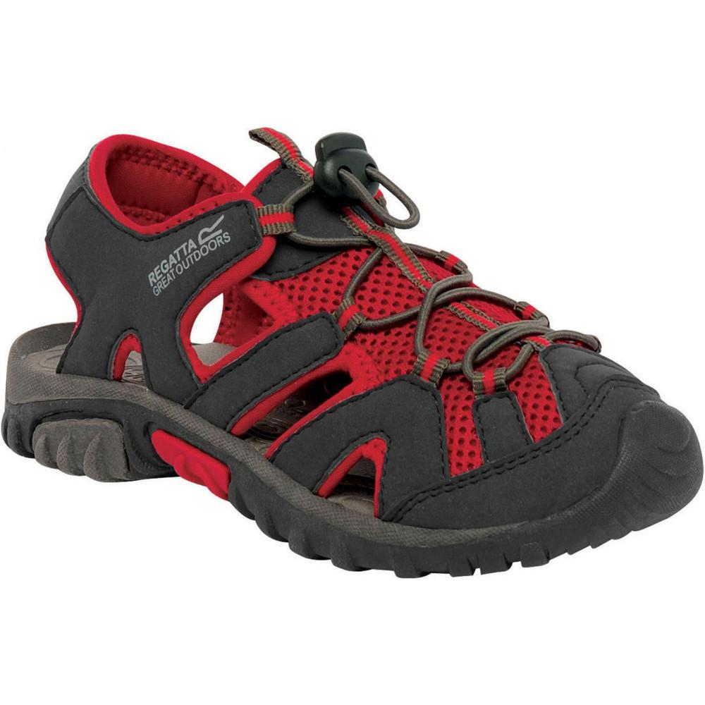 Product image of Regatta Boys & Girls Deckside Junior Breathable Mesh Walking Sandals UK Size 10 (EU 29)