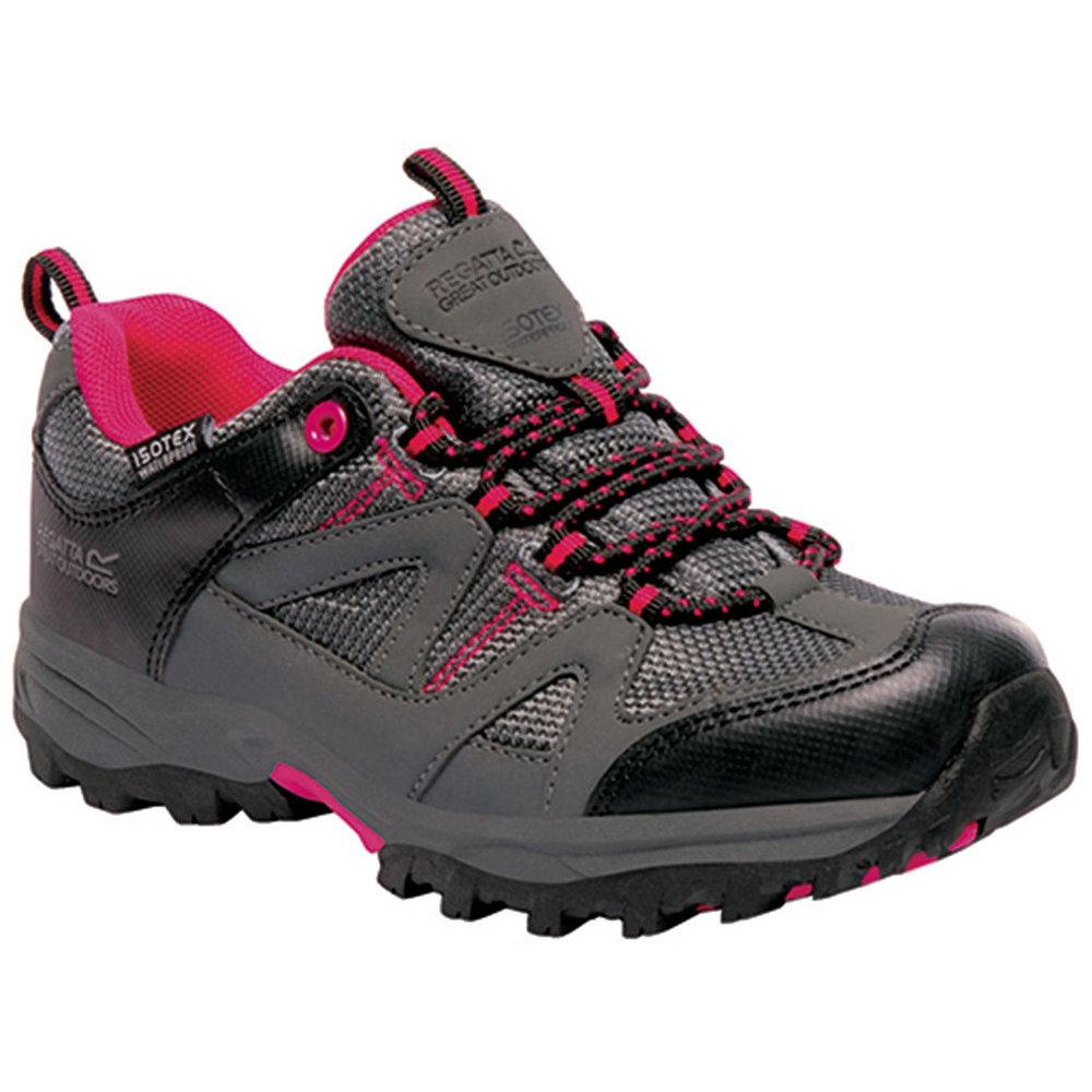 Regatta Boys Gatlin Low Waterproof Breathable Walking Shoes UK Size 10 (EU 29)