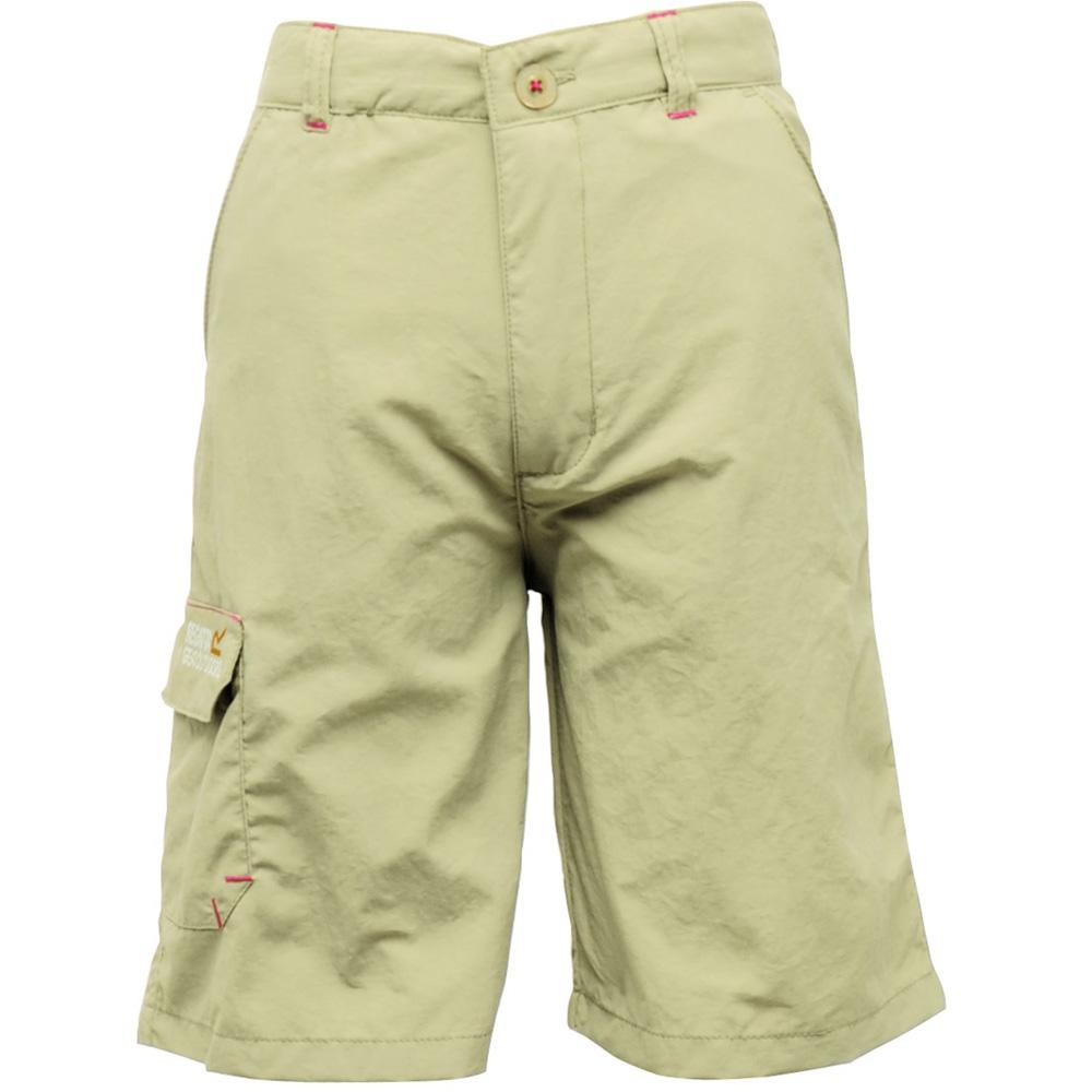 Product image of Regatta Boys Warlock Summer Shorts RKJ032 Yellow