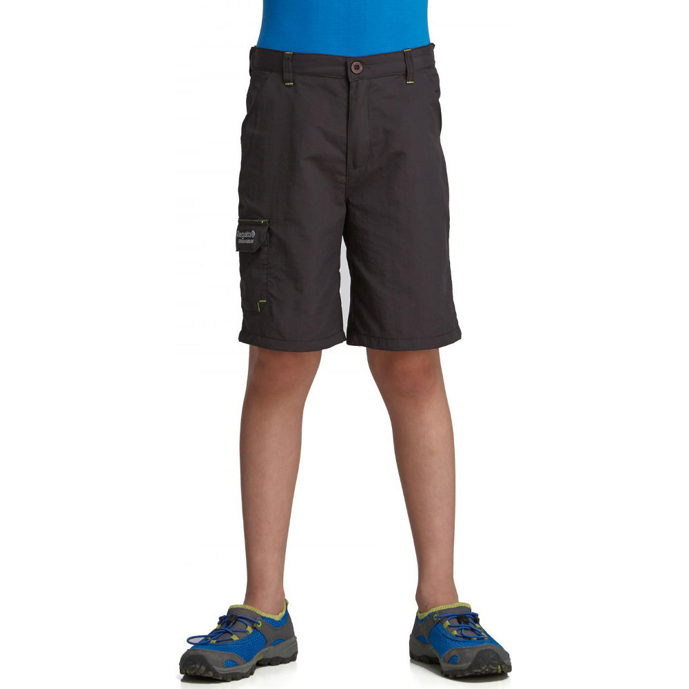 Product image of Regatta Boys & Girls Warlock II Lightweight Technical Walking Shorts 26 - Waist 68-70cm