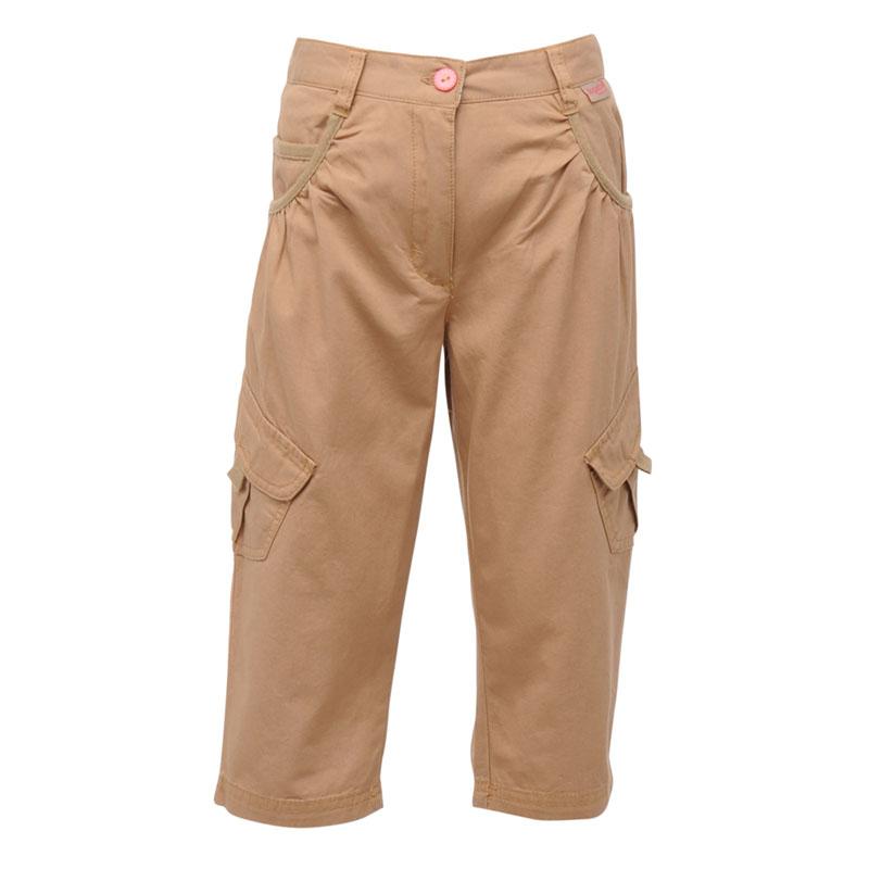 Product image of Regatta Kids Girls Moonshine Capri Shorts Brown