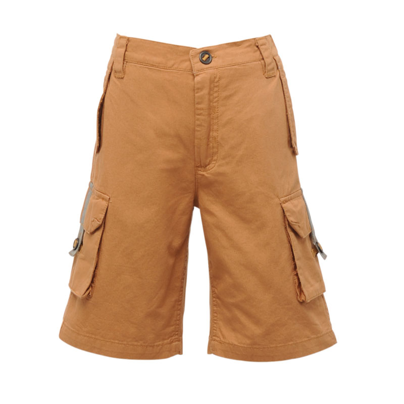 Product image of Regatta Kids Boys Towson Multi Pocket Shorts Brown