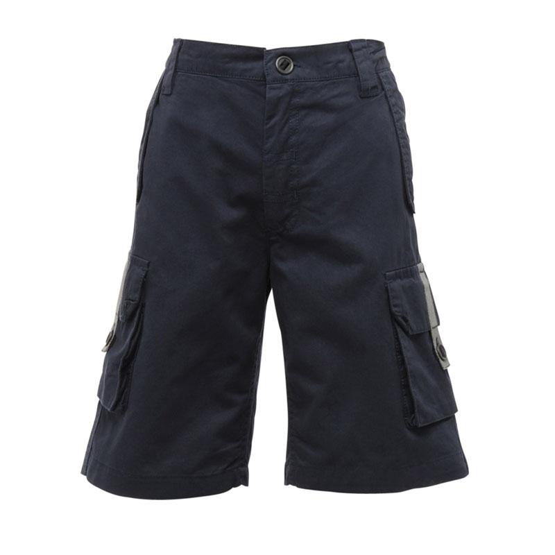 Product image of Regatta Kids Boys Towson Multi Pocket Shorts Navy