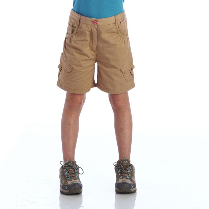 Product image of Regatta Kids Girls Moonshine Shorts Brown