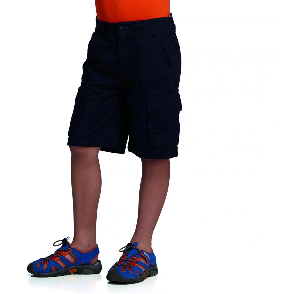 Product image of Regatta Boys Clotho Summer Walking Shorts RKJ048 Navy