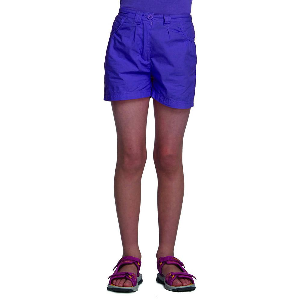 Product image of Regatta Girls Dolie Breathable Summer Shorts Purple RKJ049
