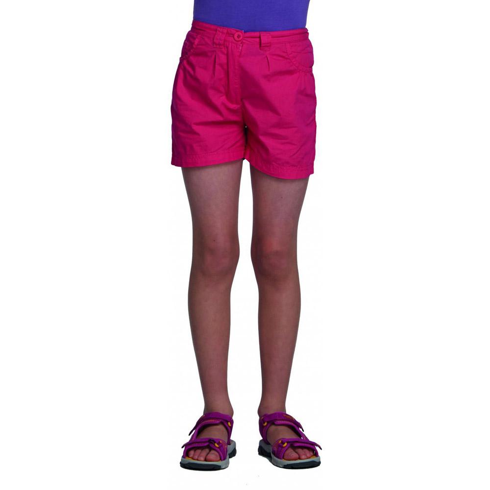 Product image of Regatta Girls Dolie Breathable Summer Shorts Pink RKJ049