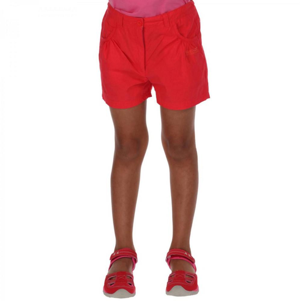 regatta girls doddle coolweave cotton walking shorts 910 years  waist 6164cm (height 135140cm)
