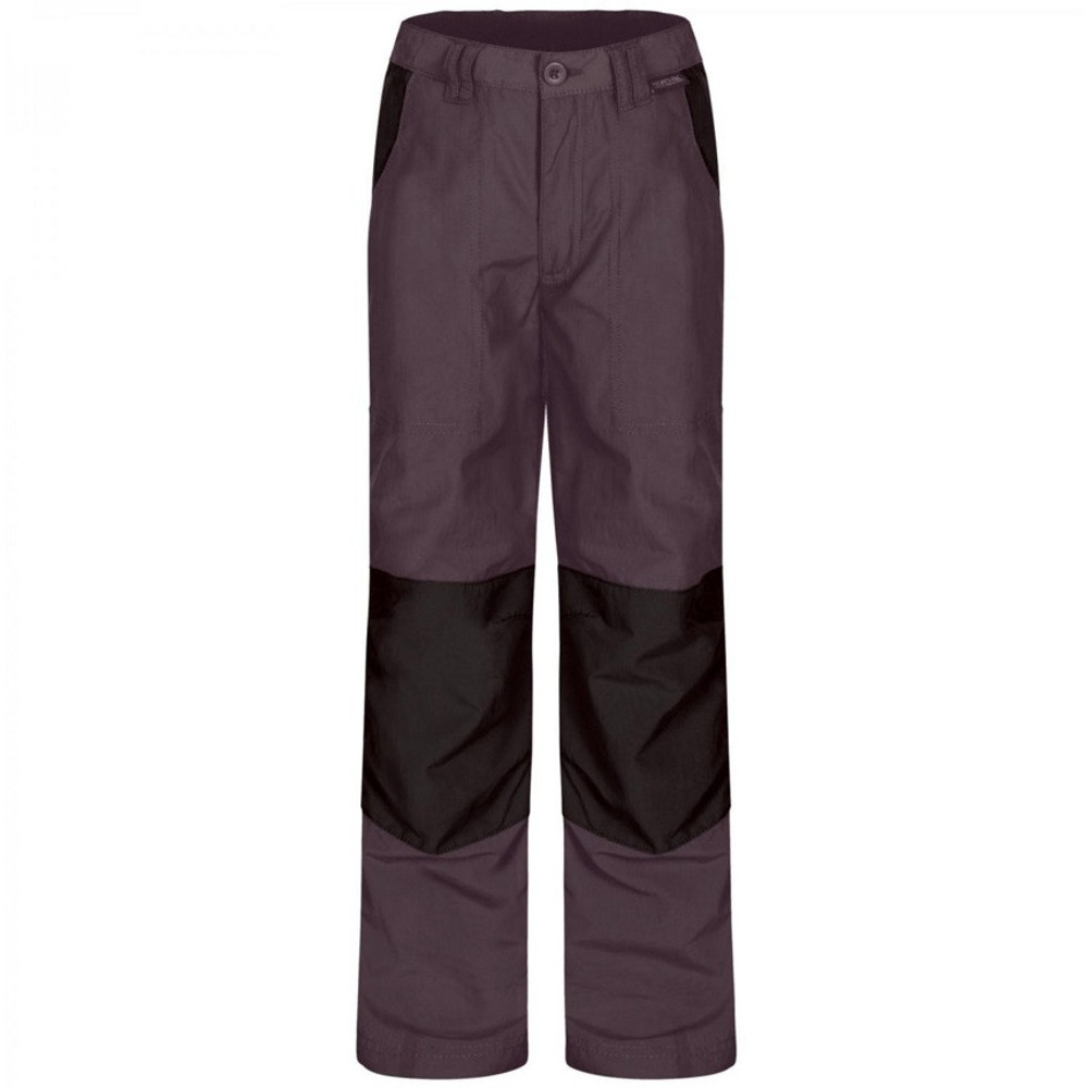 Product image of Regatta Boys Warlock Mountain Convertible Walking Trousers II 11-12 Years - Waist 65-67cm (Height 14