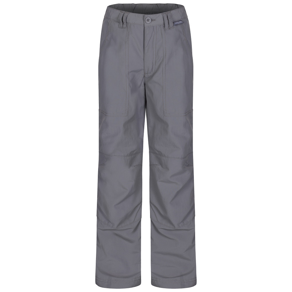 Product image of Regatta Boys Warlock Mountain Convertible Walking Trousers II 26' - Waist 68-70cm (Height 152-158cm)