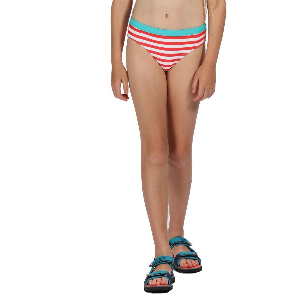 Regatta Girls Hosanna Uv Protect Swim Bikini Brief Bottoms 3-4 Years - Waist 53-54cm (height 98-104cm)