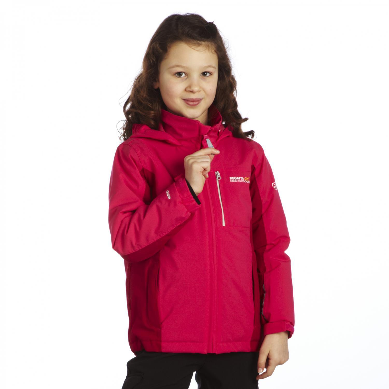 Regatta Girls Dodger Waterproof Breathable Jacket RKP121