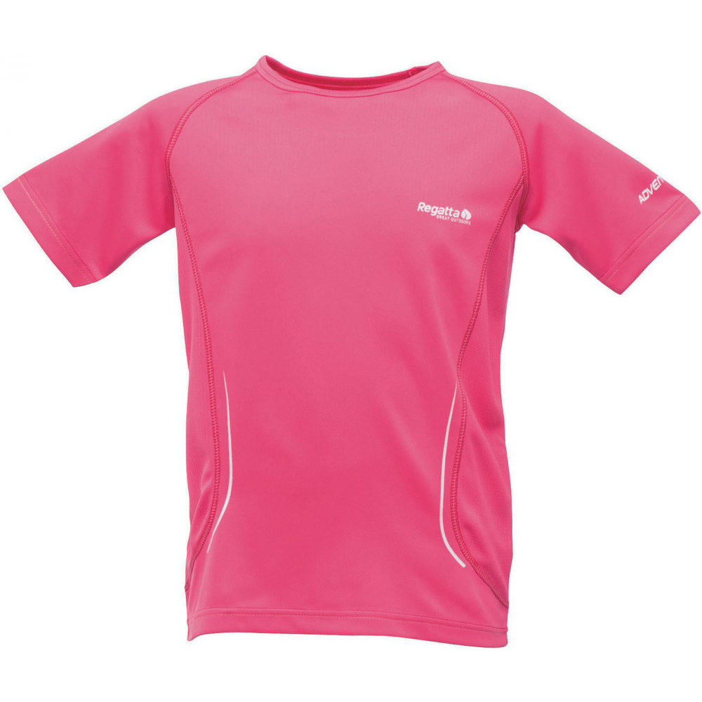 Product image of Regatta Boys & Girls Kaktus Breathable Quick Drying Active T Shirt 32' - Chest 79-83cm
