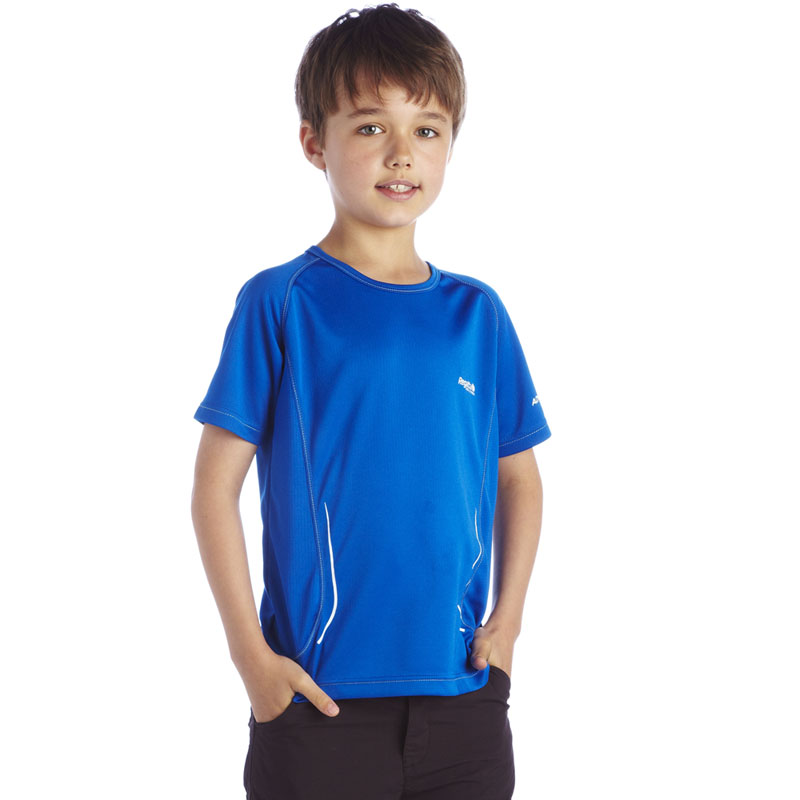 Product image of Regatta Kids Boys Kaktus T Shirt  Blue