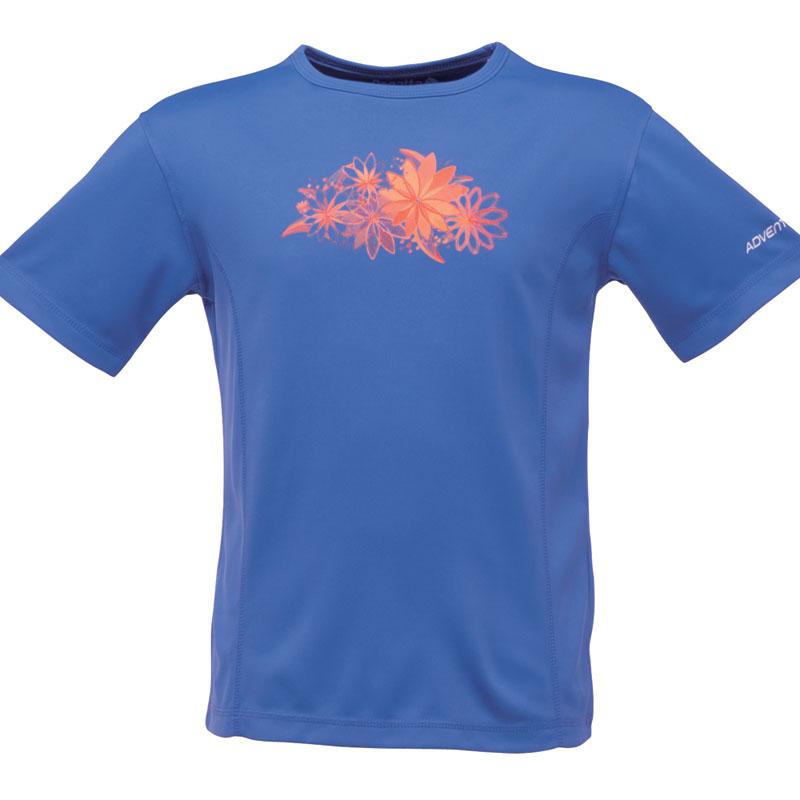 Product image of Regatta Kids Girls Starcrest T Shirt Purple