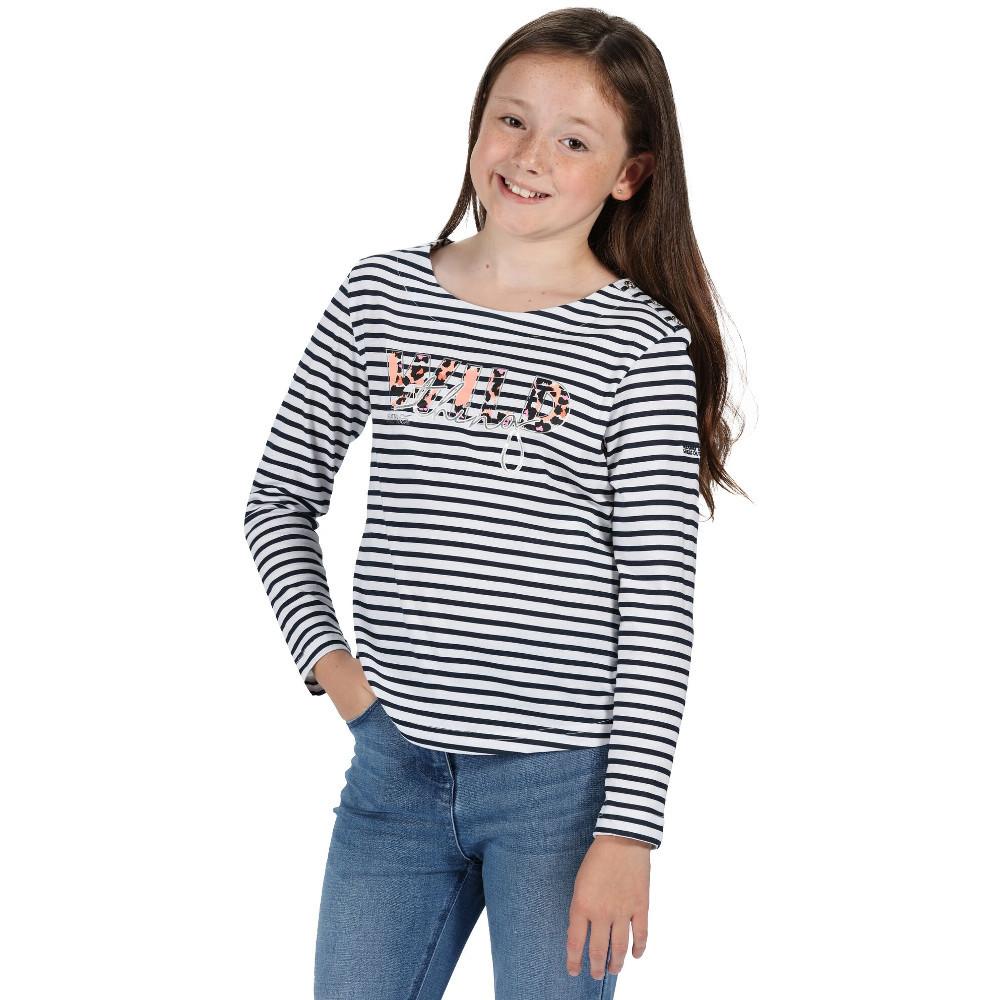 Nimbus Womens/ladies Bedford Wide Neck Cotton Relaxed Attitude T-shirt Xs - Chest 44cm