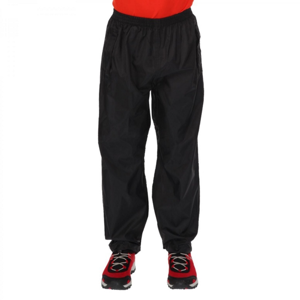 Regatta BoysandGirls Kids Pack It Lightweight Waterproof Overtrousers 5-6 Years - Waist 55-57cm (height 110-116cm)