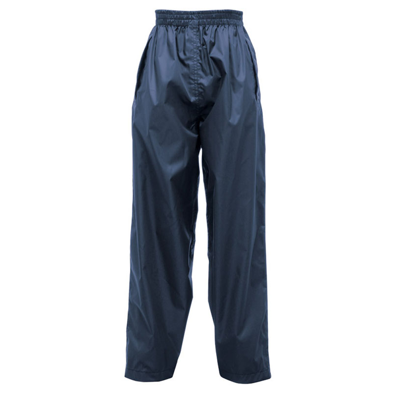 Product image of Regatta Pack It Children's Waterproof Overtrousers Midnight