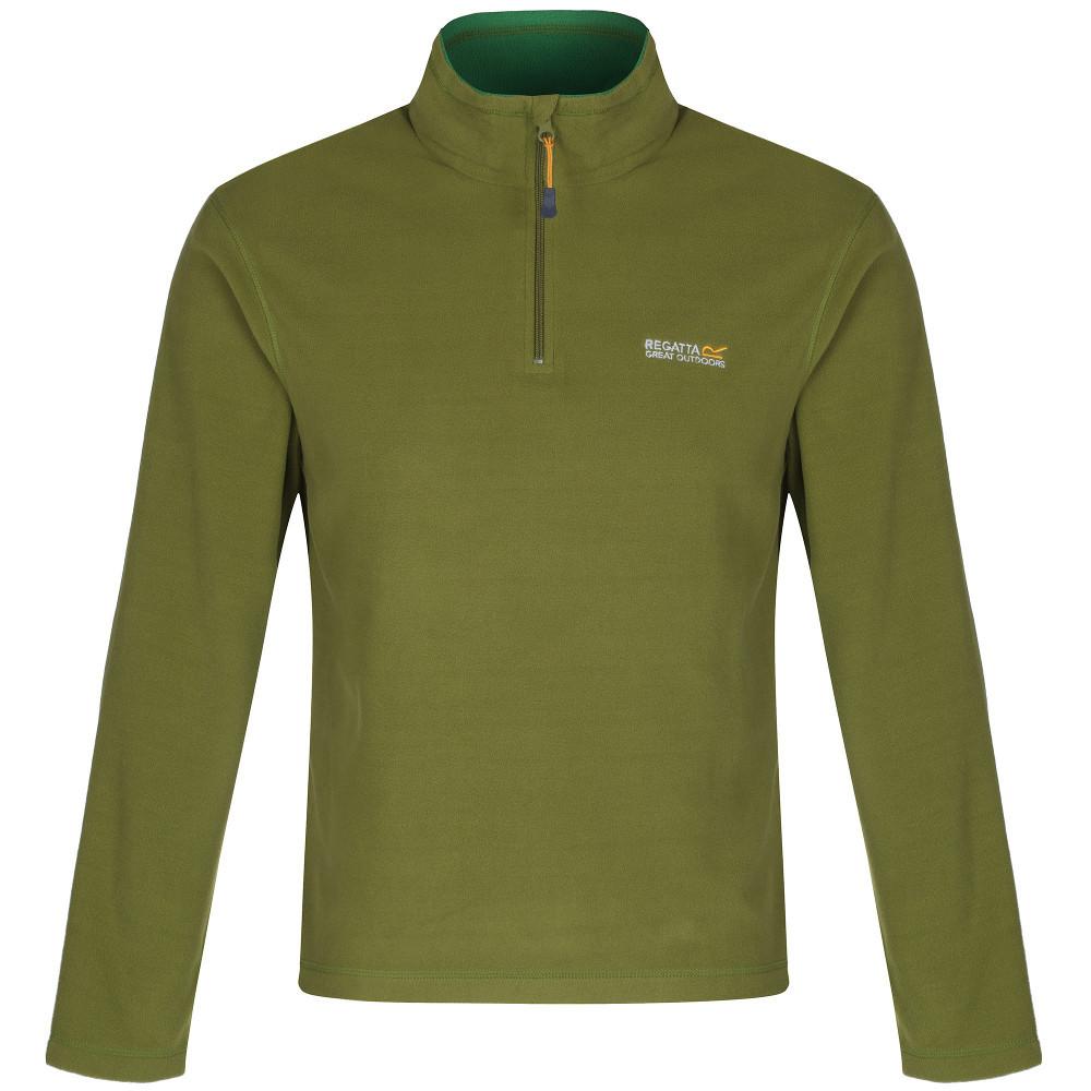 Product image of Regatta Mens Thompson Classic Lightweight Half Zip Fleece Top 4XL - Chest 52-54' (132-137cm)