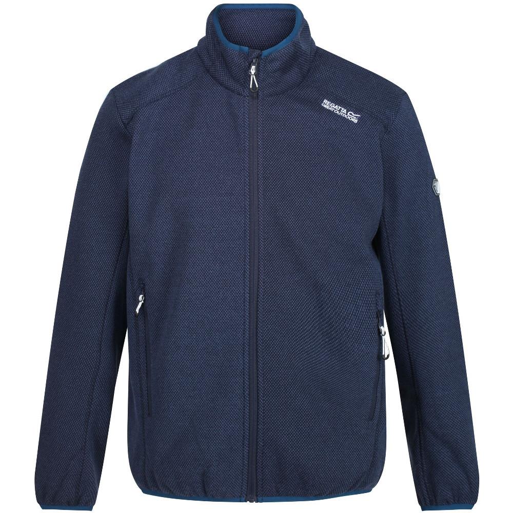Regatta Boys Berley Quick Drying Wicking Half Zip Jacket 3-4 Years - Chest 55-57cm