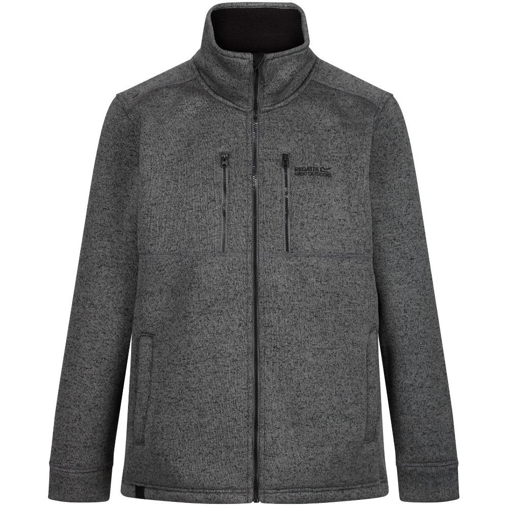 Regatta Mens Paavo Hi Pile Bonded Walking Fleece Jacket XXL - Chest 46-48 (117-122cm)