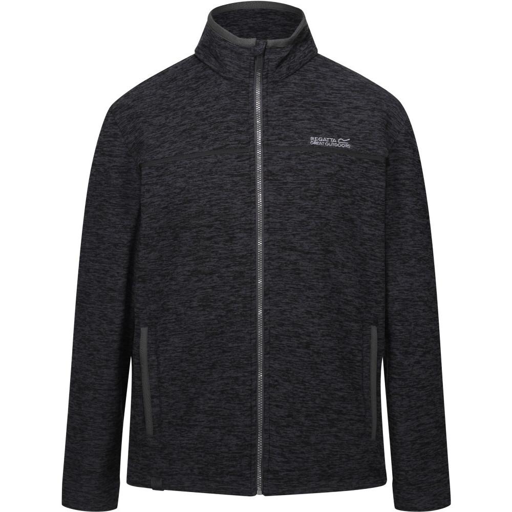 Regatta Mens Earvin Polyester Two Tone Walking Fleece Jacket Xxl - Chest 46-48 (117-122cm)
