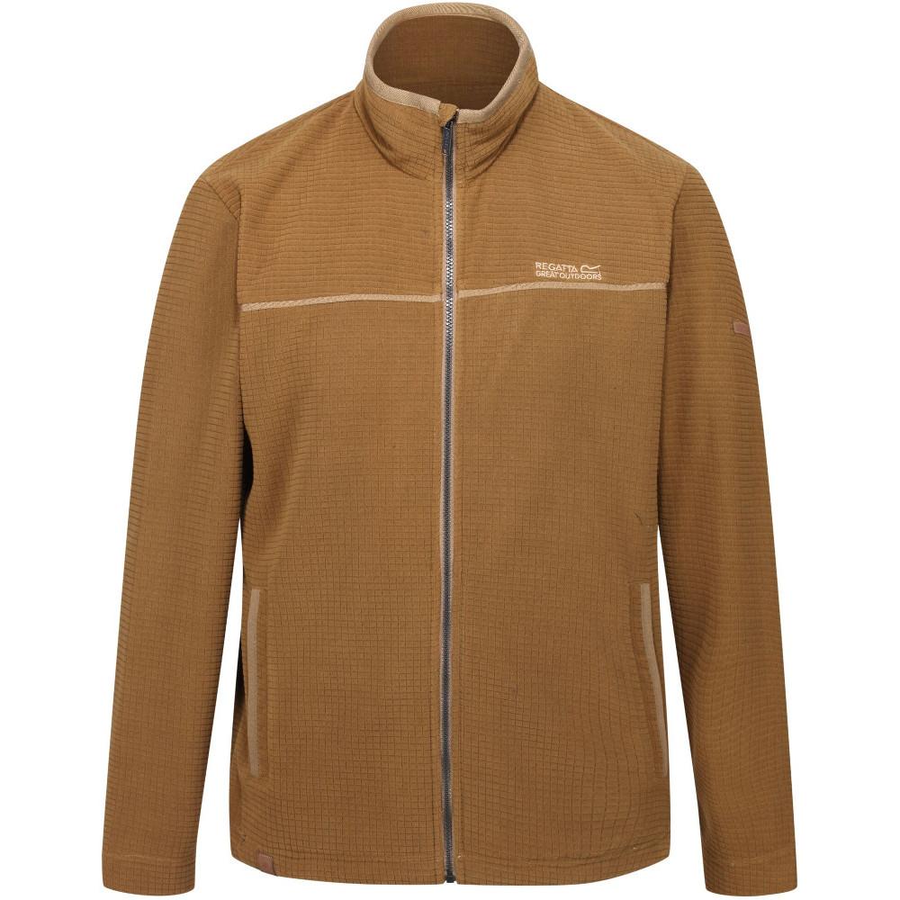 Regatta Mens Earvin Polyester Two Tone Walking Fleece Jacket S - Chest 37-38 (94-96.5cm)