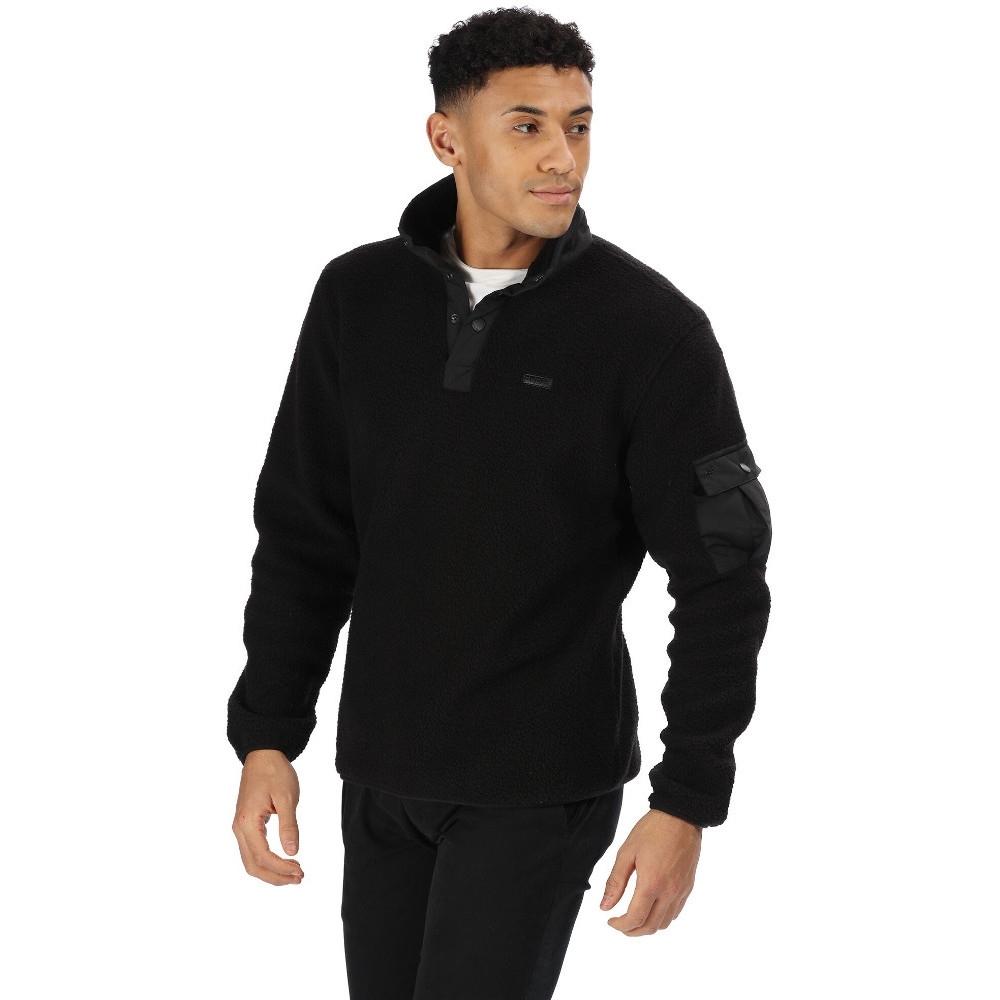 Regatta Mens Cormac Ripstop Half Zip Walking Fleece Jacket