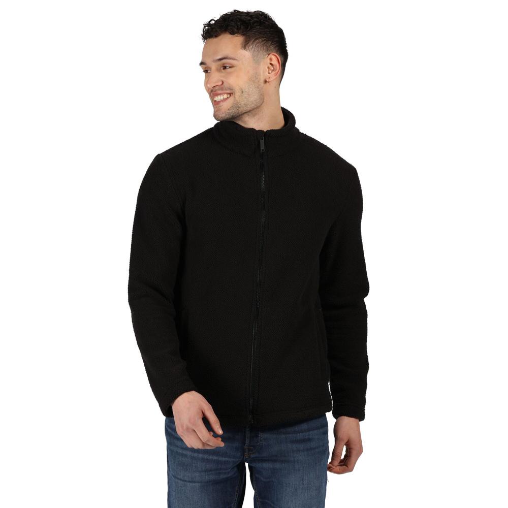 Regatta Mens Esdras Full Zip Honeycom Fleece Jacket Xxl - Chest 46-48 (117-122cm)