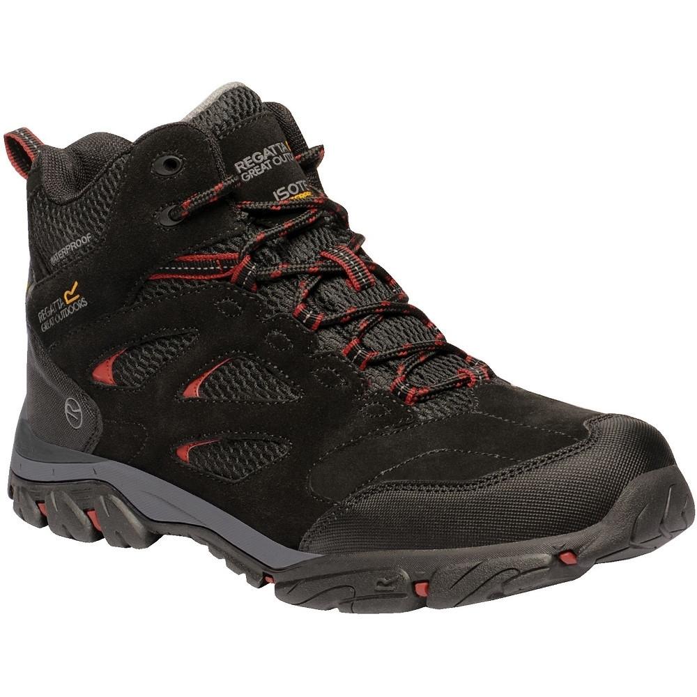 Regatta Mens Holcombe IEP Waterproof Suede Walking Boots UK Size 8 (EU 42)
