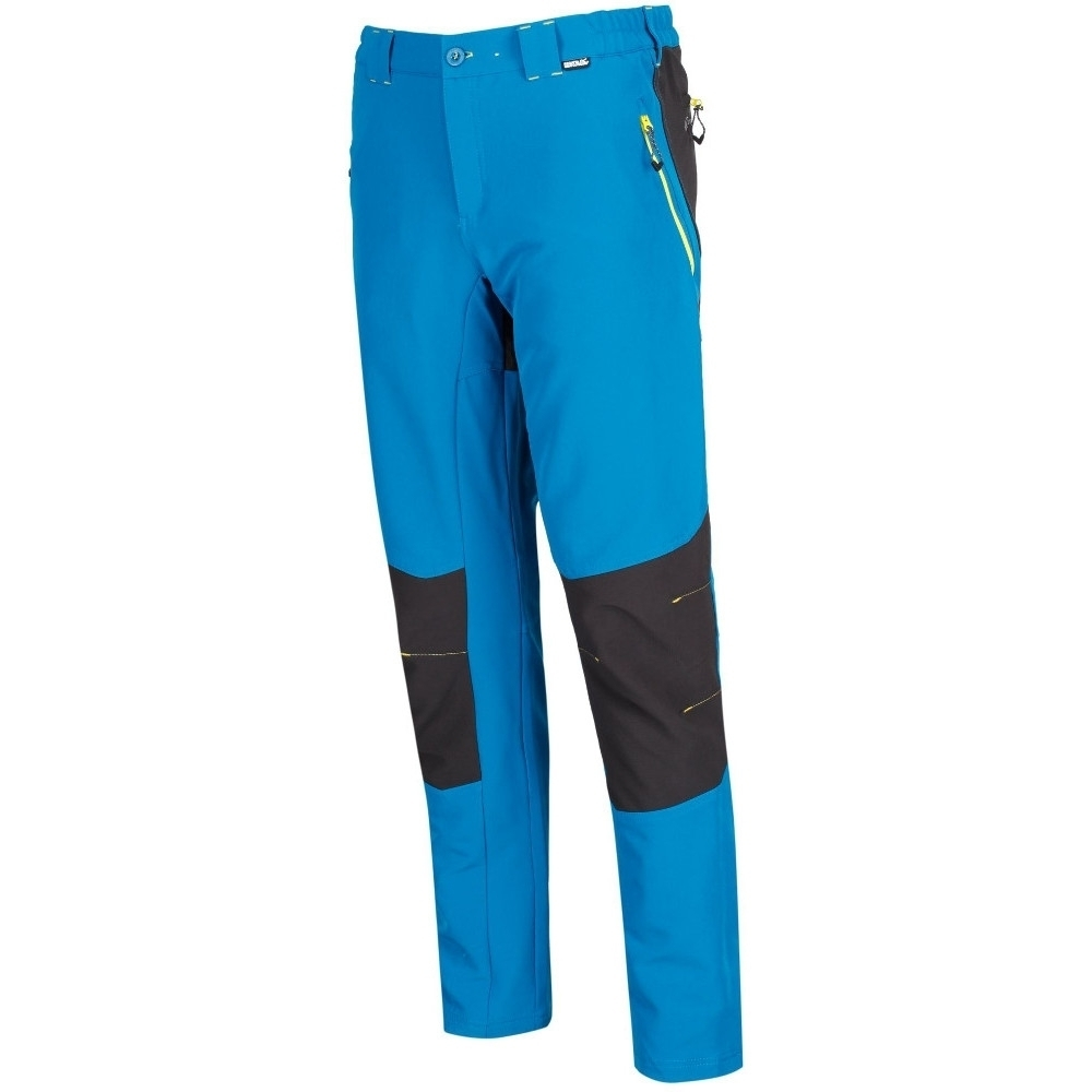 Regatta Mens Questra Ripstop Knee Panel Softshell Walking