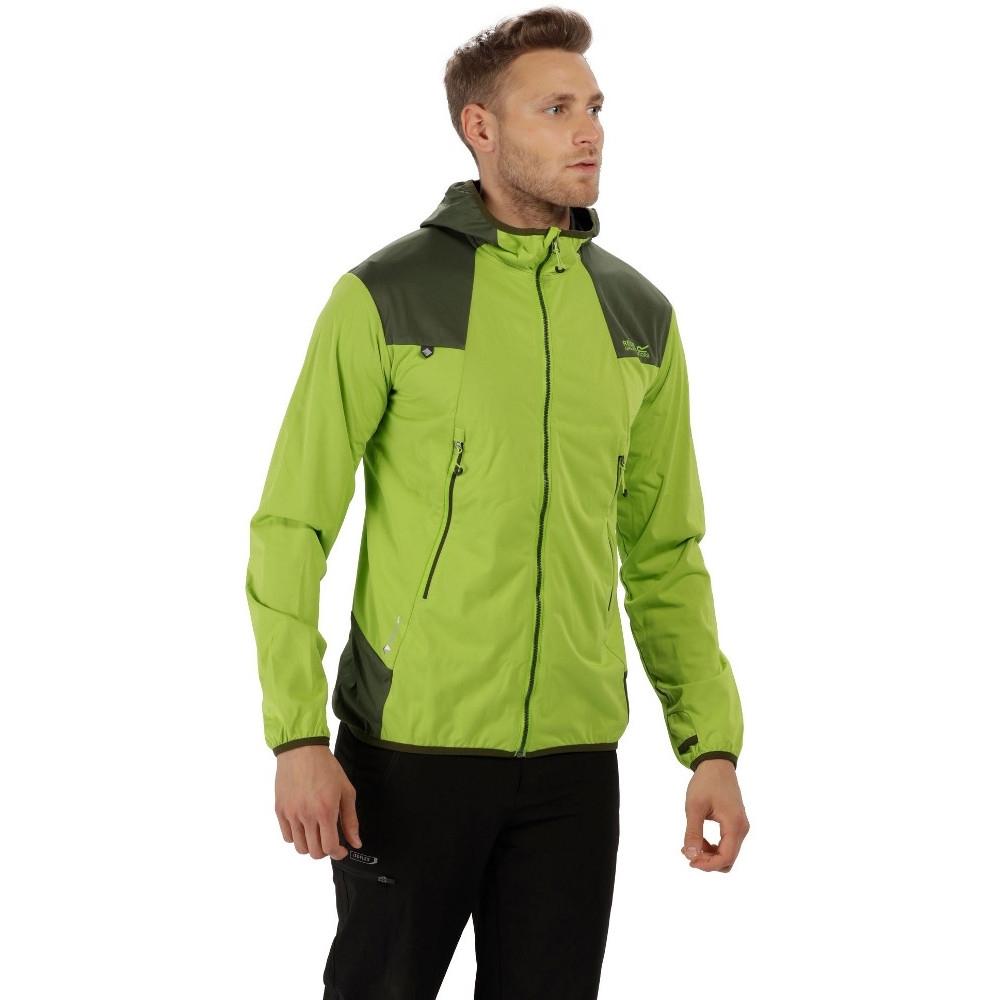 Image of Regatta Mens Static IV Lightweight Durable Softshell Jacket Coat M - Chest 39-40' (99-101.5cm)