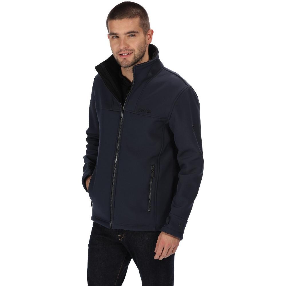 Image of Regatta Mens Conlan Windproof Warm Softshell Fleece Jacket 3XL - Chest 49-51' (124.5-129.5cm)
