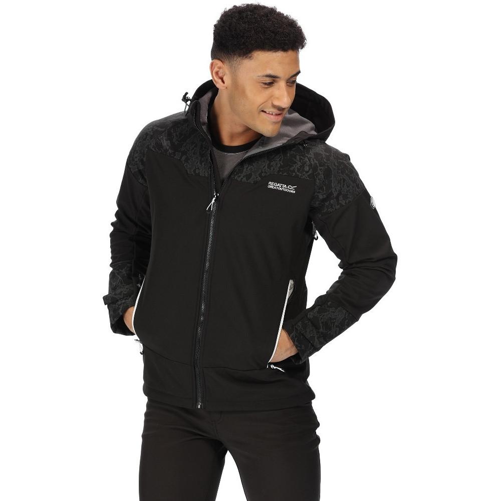 Regatta Mens Hewitts V Breathable Softshell Walking Jacket