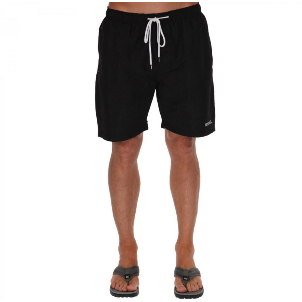 Product image of Regatta Mens Mawson Mesh Lined Polyester Swim Short L - Chest 41-42' (104-106.5cm)