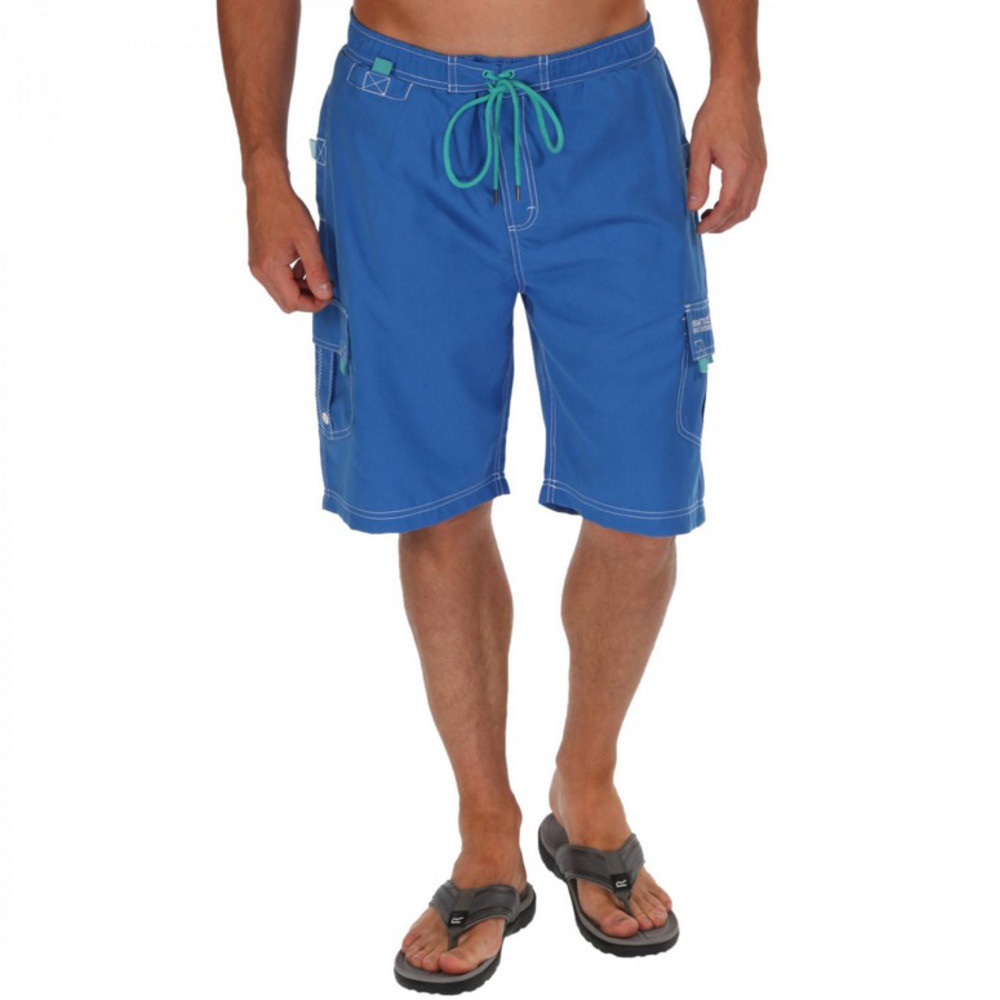 Product image of Regatta Mens Hotham Mesh Lined Polyester Board Shorts S - Chest 37-38' (94-96.5cm)