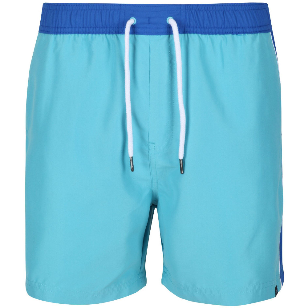 Regatta Mens Amias Wicking Adjustable Summer Swimming Shorts S- Waist 30-32 (76-81cm)
