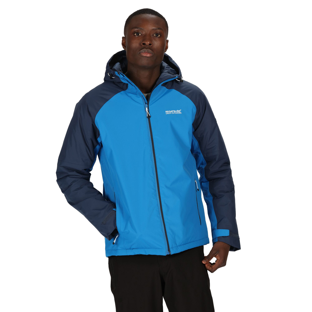 Regatta Mens Dangelo Ii Waterproof Lightweight Durable Jacket Coat Xxl - Chest 46-48 (117-122cm)