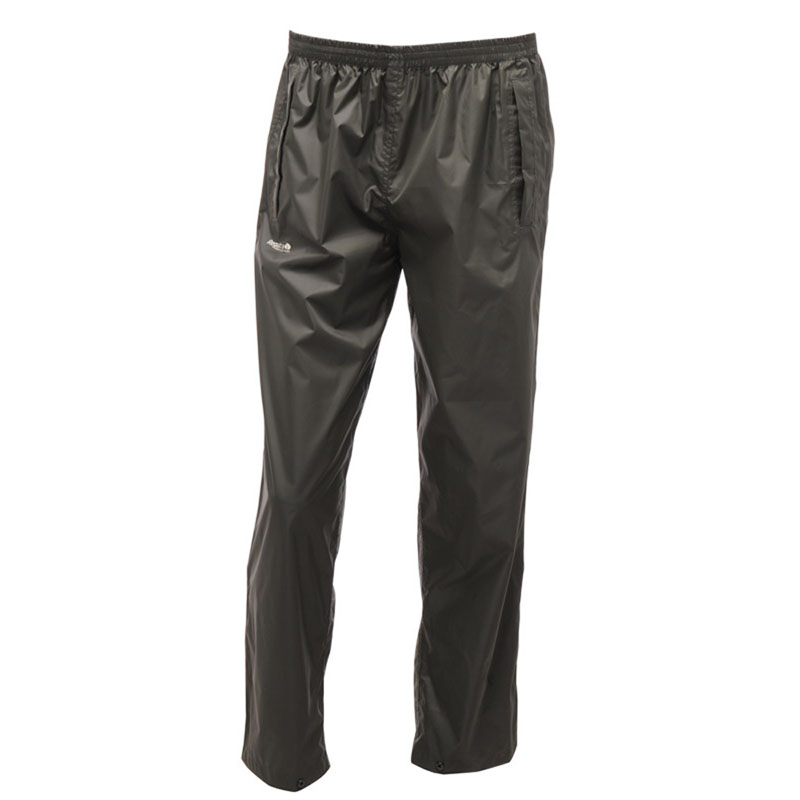 Product image of Regatta Mens Pack It Waterproof Overtrousers Bayleaf
