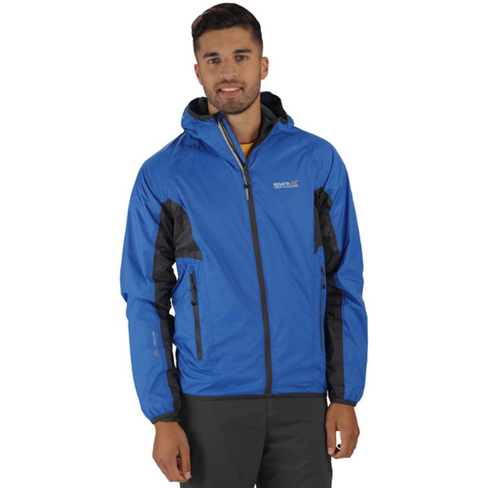 Regatta Mens Levin Waterproof Breathable Stretch Rain